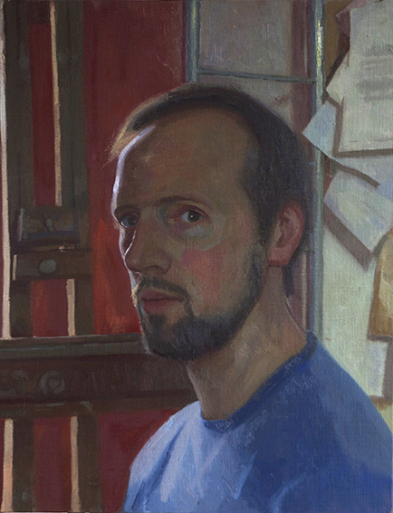 Joe Galvin Self portrait 1