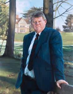 Past Head Craig Considine, Millfield School.Oil On Canvas30x38.5ins
